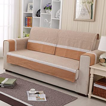 Sommer Sofa handtuch,Baumwoll sofa cover protector,Einfache ...