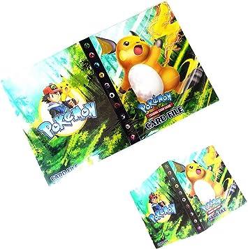 Pokemon Cards Binder Folder Book List Collectors 240 Cards Capacity Holder Girl