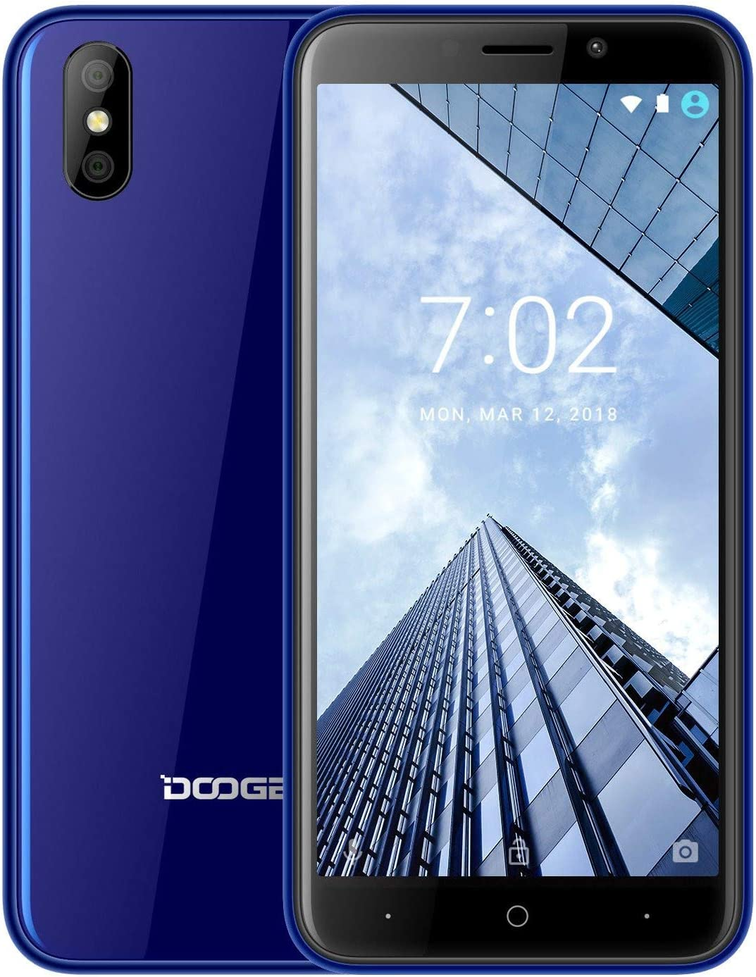 X50 3G SIM Dual 8.1 Smartphone, teléfono Android, MT6580M 4X ...