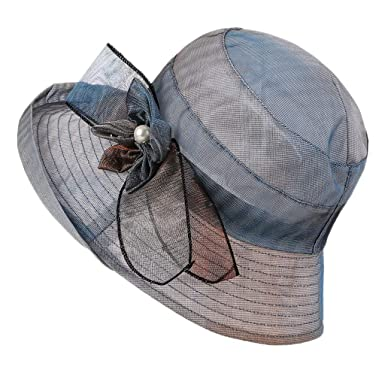 Sombrero Playa Mujer, fiosoji Gorra de Moda Salvaje Visera ...