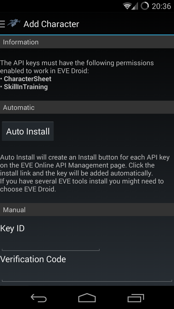 Amazon com: EVE Droid: Appstore for Android