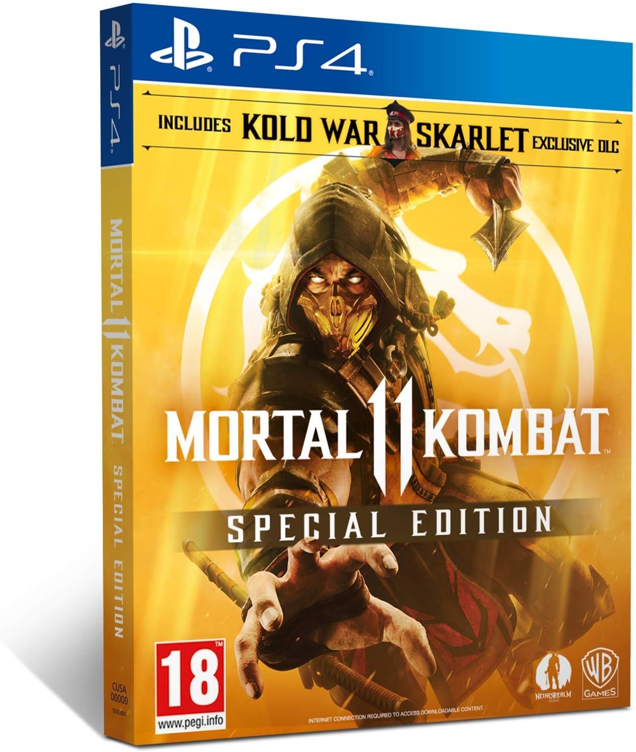 Amazon com: Mortal Kombat 11 Special Edition (Amazon Exclusive) (PS4