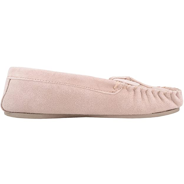 Amazon.com | SNUGRUGS Ladies/Womens Soft Suede Moccasins/Slippers with Beautiful Cotton Lining | Slippers