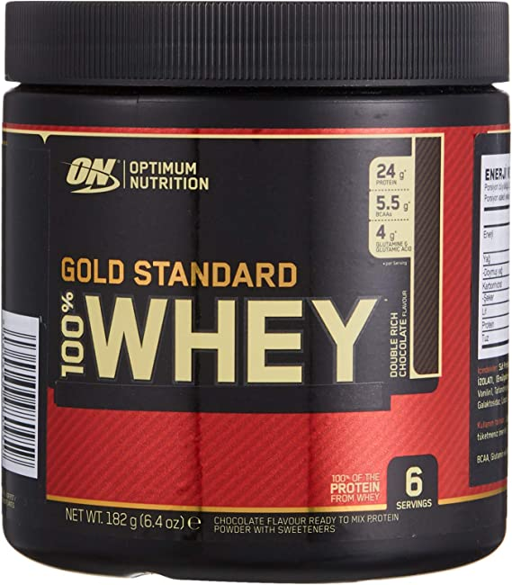 Optimum Nutrition Gold Standard Whey, Sabor Chocolate - 176 gr