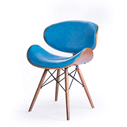 Image Unavailable  sc 1 st  Amazon.com & Amazon.com: Mid-Century Bent Plywood Chair Accent Chair (1): Kitchen ...