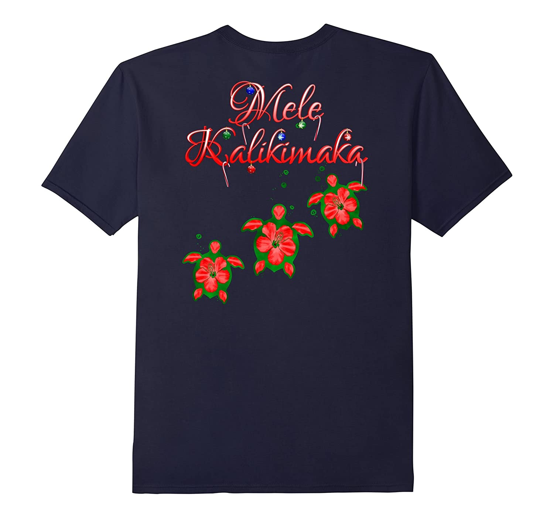 Mele Kalikimaka Hawaii Honu Turtles-T-Shirt