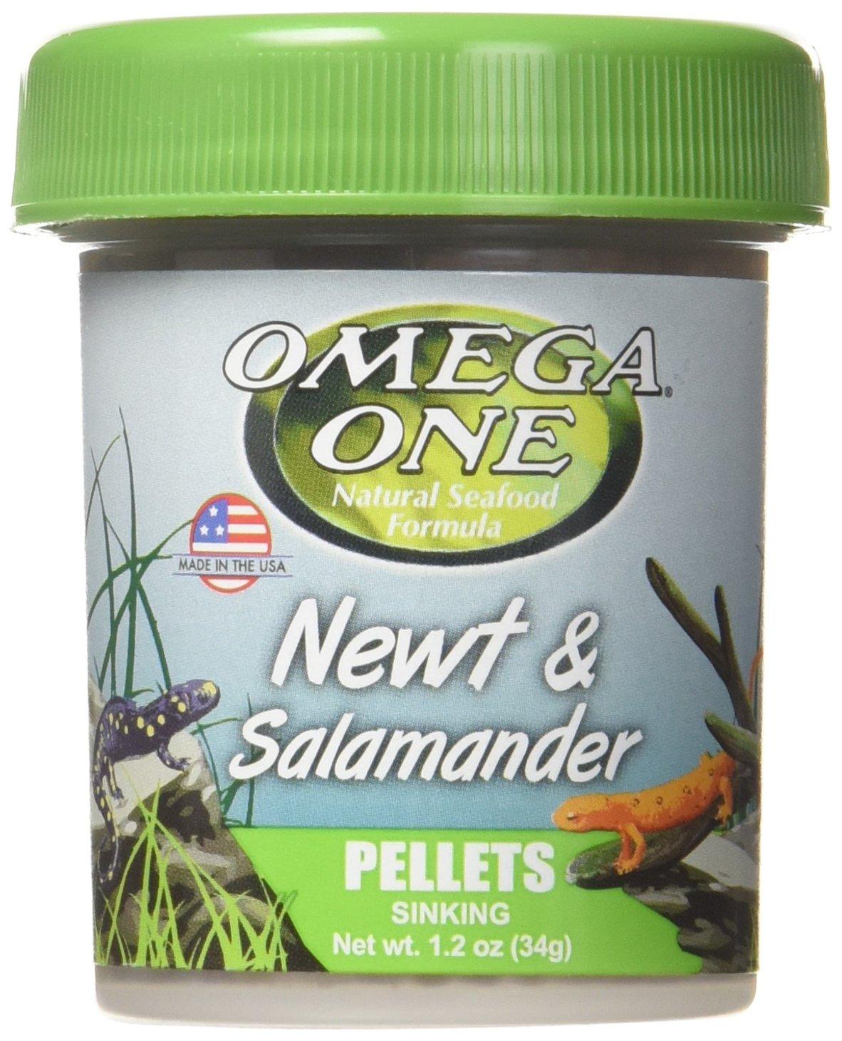 OmegaSea Food Os Newt and Salamander Pellets 1.2 oz, 1 Can, Small Lambert Vet Supply 63111
