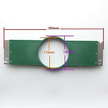 """KUNPENG - 1 piezas Aro de bordado de 12 cm 4.7""""355 mm de ancho"""