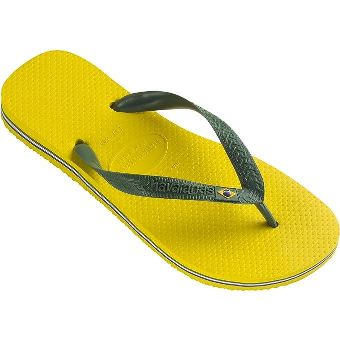 Havaianas - Zapatillas de Estar por casa de Sintético para Hombre Amarillo Amarillo: Amazon.es: Ropa y accesorios