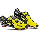 Sidi Drako Carbon SRS MTB Cycling Shoes - Yellow Fluo/Black