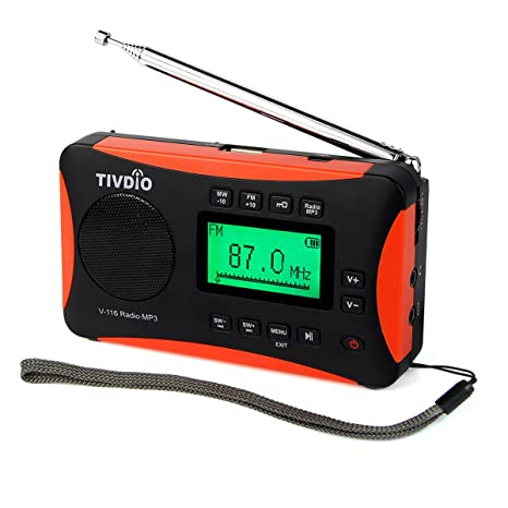 Review TIVDIO V-116 Portable Shortwave
