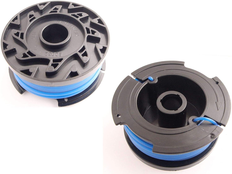 2er Set Fadenspule 1,6mm passend Black/&Decker ST5530 Freischneider