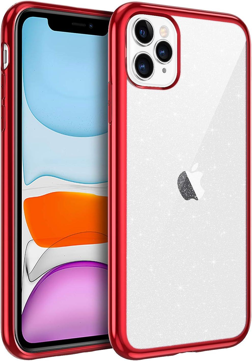 Bentoben Iphone 11 Pro Hülle Handyhülle Glitzer Iphone Elektronik
