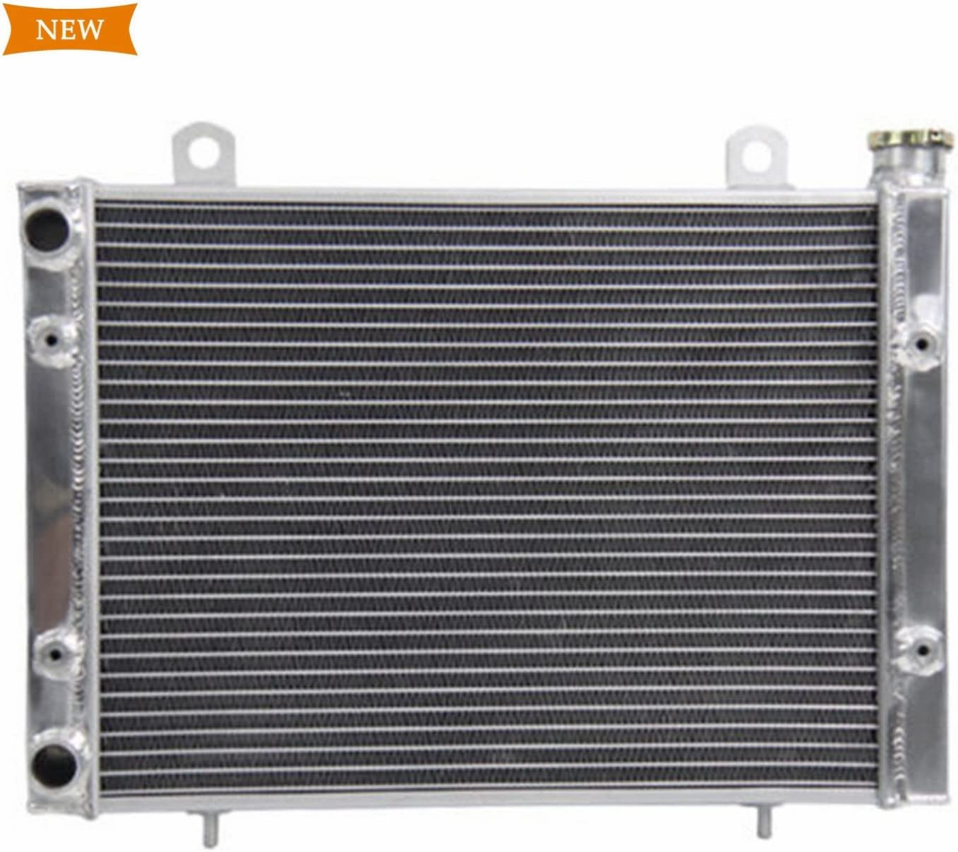 Primecooling Full Aluminum Radiator for 2010-2014 Polaris Ranger 4X4 800 EFI Crew 6x6 (OEM#:1240528,1240527,1240720,124072)