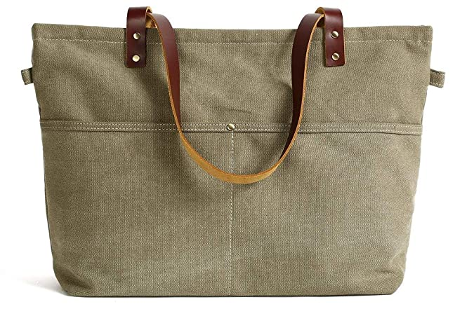 ff3b405d01 Amazon.com  Handmade Canvas Tote Bag Messenger Bag Shopper Bag School Bag  Handbag  Shoes