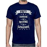 Green Turtle T-Shirts Papy L' Homme Le Mythe La légende pour Super Papi Humour Noël T-Shirt Homme