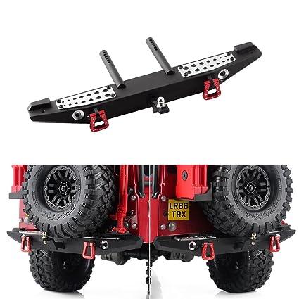 Heavy Duty CNC Metal Front//Rear Bumper For TRAXXAS TRX-4 TRX4 Climbing RC Truck