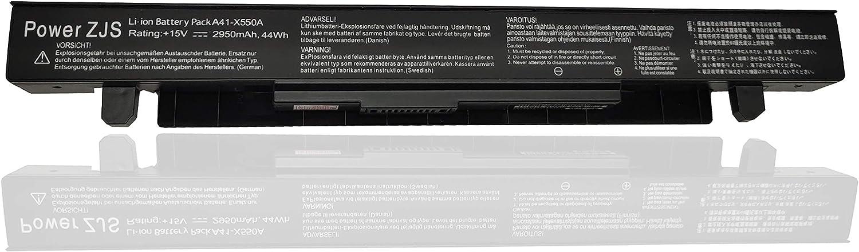 ZJS Batería A41-X550A para ASUS F552 F552C F552CL K550 X550LB F550L F552 F552C F552CL X550CC X550LA[15V 2950 mAh ]: Amazon.es: Electrónica