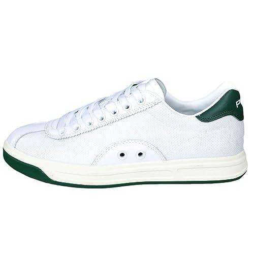 Polo Ralph Lauren TREMAYNE deep polo sneakers Zapatillas de Lona Para Hombre Blanco Bianco Blanco Size: 41 EU: Amazon.es: Zapatos y complementos