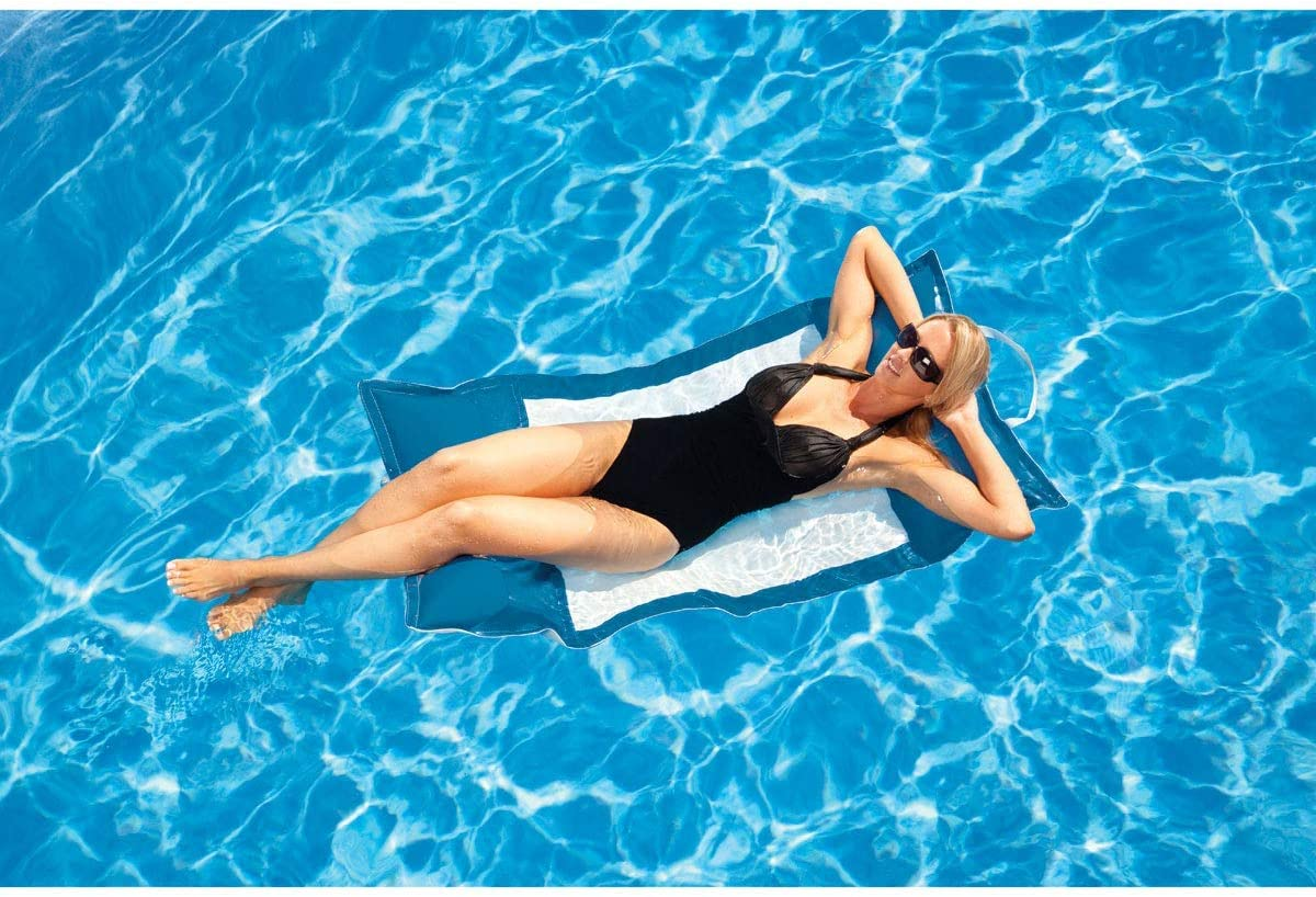 Floating Kai Water Hammock – Pacific Blue