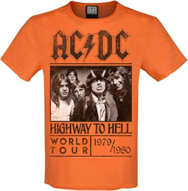 AC/DC Amplified Collection - Highway To Hell Hombre Camiseta ...