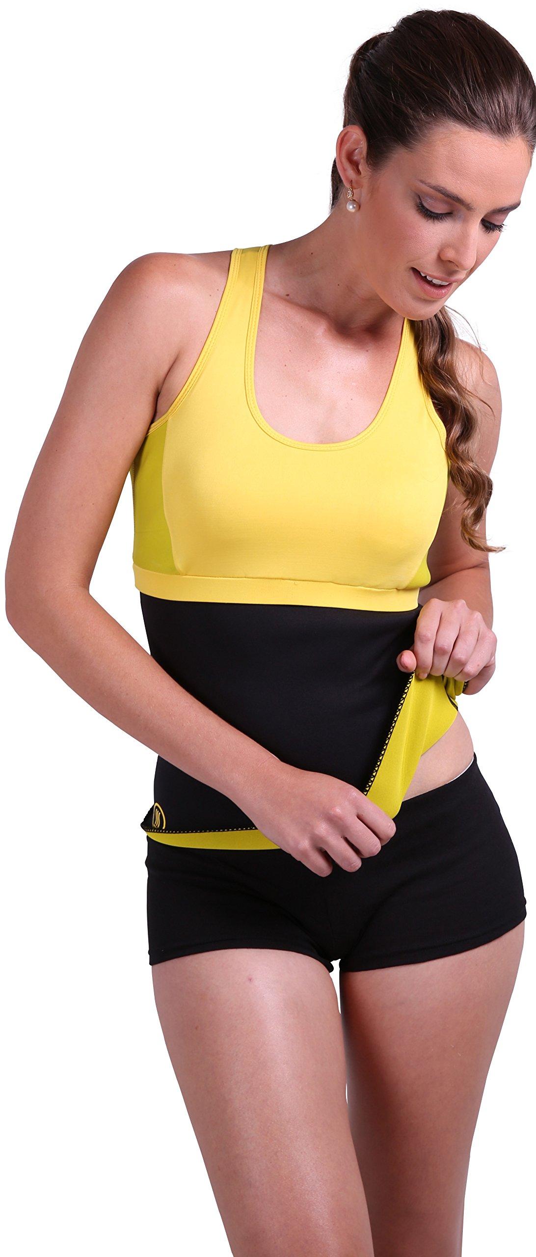 Galleon - Slim Abs Premium Waist Trimmer Belt Sm - Hot Sauna And Belt For Men And -5576