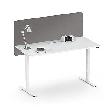 Akustik Tischtrennwand Desk Sichtschutz Larmschutz
