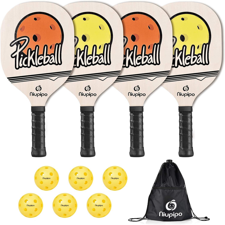 USAPA Pro Graphite Pickleball Paddle Set niupipo Pickleball Paddles