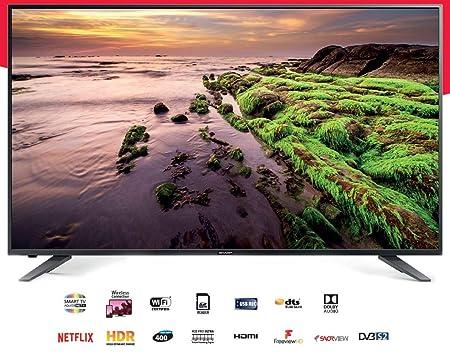 """Sharp LC-60UI7652K - 60"""" LED Smart TV - 4K UltraHD"""