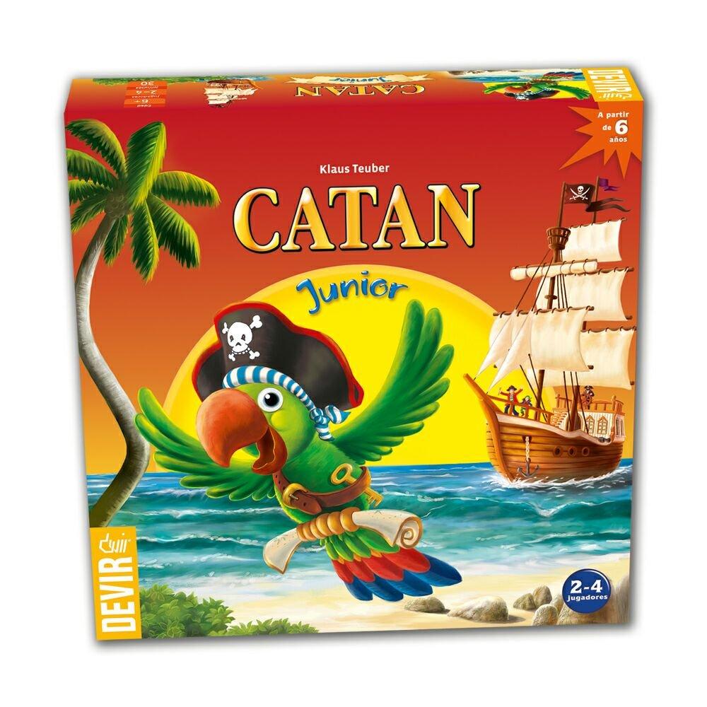 Devir - Catan Junior, juego de mesa (BGJCATAN)
