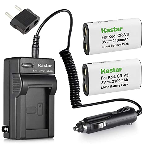 Amazon.com: 2 Batería de iones de litio y cargador para ...