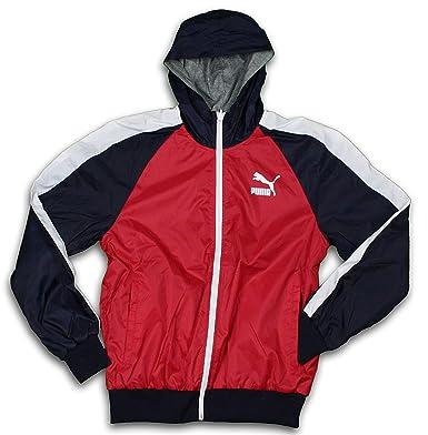 Puma T7 - Reversible chaqueta de chándal ligera: Amazon.es ...