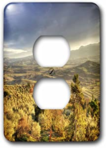 3dRose lsp_54200_6 Tuscan Wine Country In Italy Outlet Cover