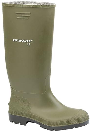New Mens Ladies Dunlop Hunting Fishing Walking Waterproof Wellies Rain  Festival Wellington Boots UK Sizes 2