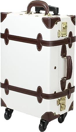 MOIERG Vintage Zipper-less Luggage