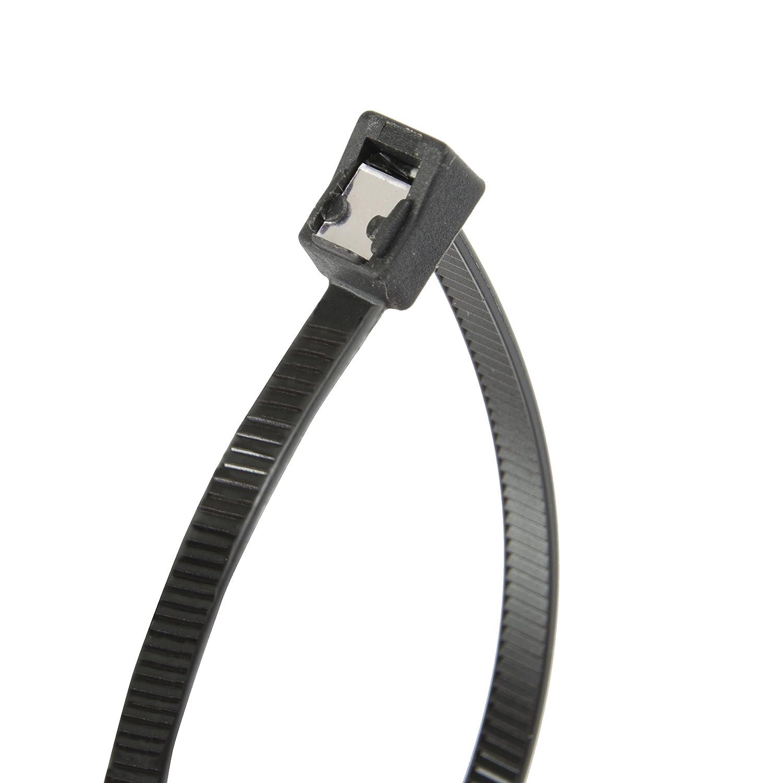 Zip Tie Tensile Twist-Off Tail Gardner Bender 45-308SC Nylon Self-Cutting Cable Tie 50 lb Natural White 8 inch 20 Pk.