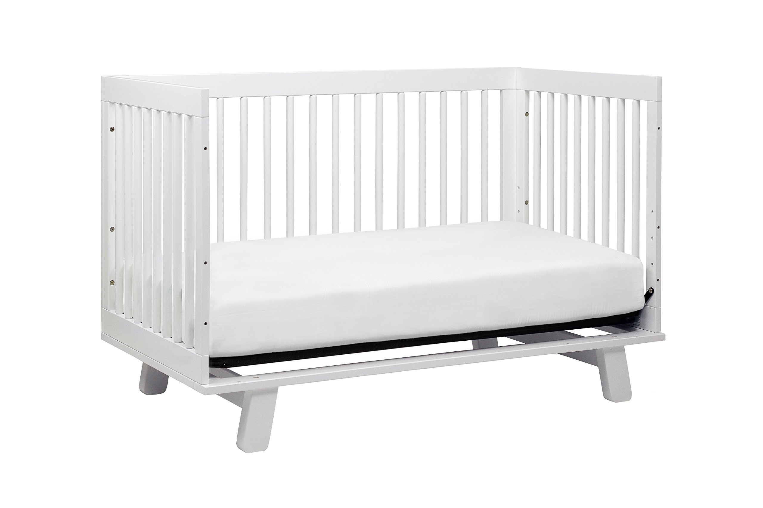 Babyletto Hudson 3-in-1 Convertible Crib with Toddler Bed Conversion Kit, White by babyletto (Image #7)