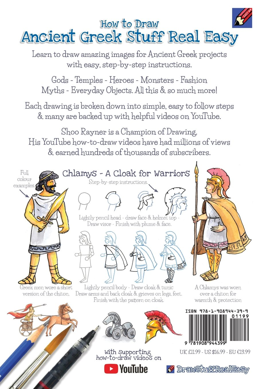 How To Draw Ancient Greek Stuff Real Easy: Easy step by step