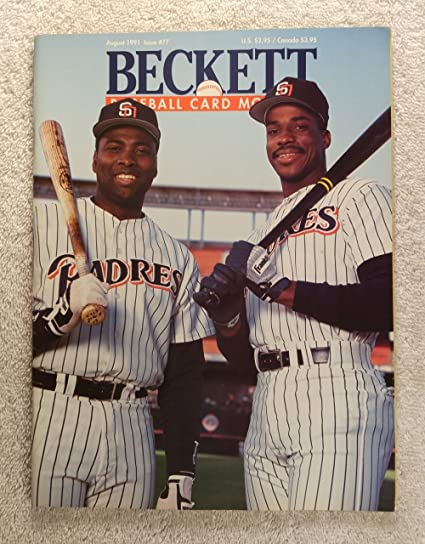Tony Gwynn Fred Mcgriff San Diego Padres Beckett Baseball Card