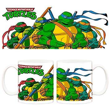 Taza Las Tortugas Ninja Dibujo Amazones Hogar