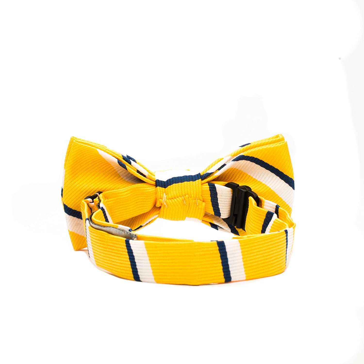 Toddler Pre Tied Adjustable Patterned Bow Tie Baby Boys Plaid Stripes Born to Love Dots Checkered