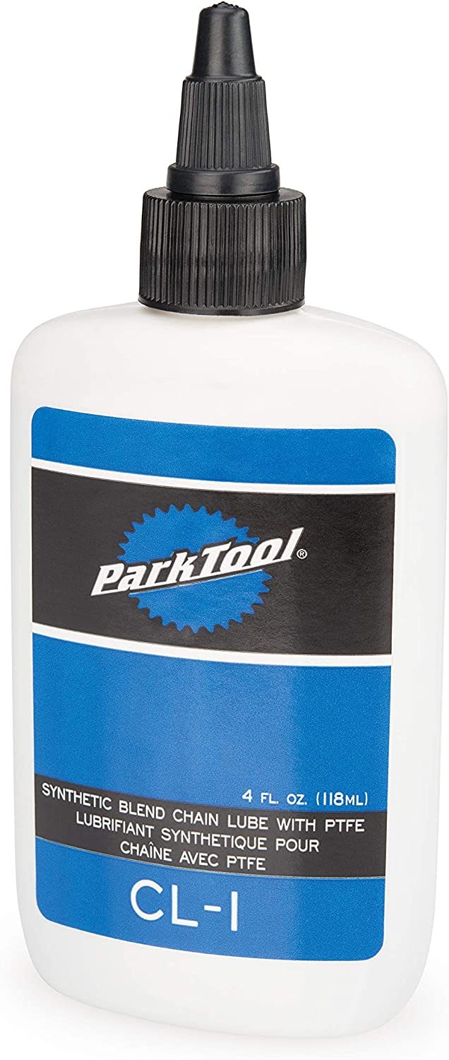 Park Tool CL-1 Synthetic Blend Bicycle Chain Lube with PTFE - 4 oz. Bottle