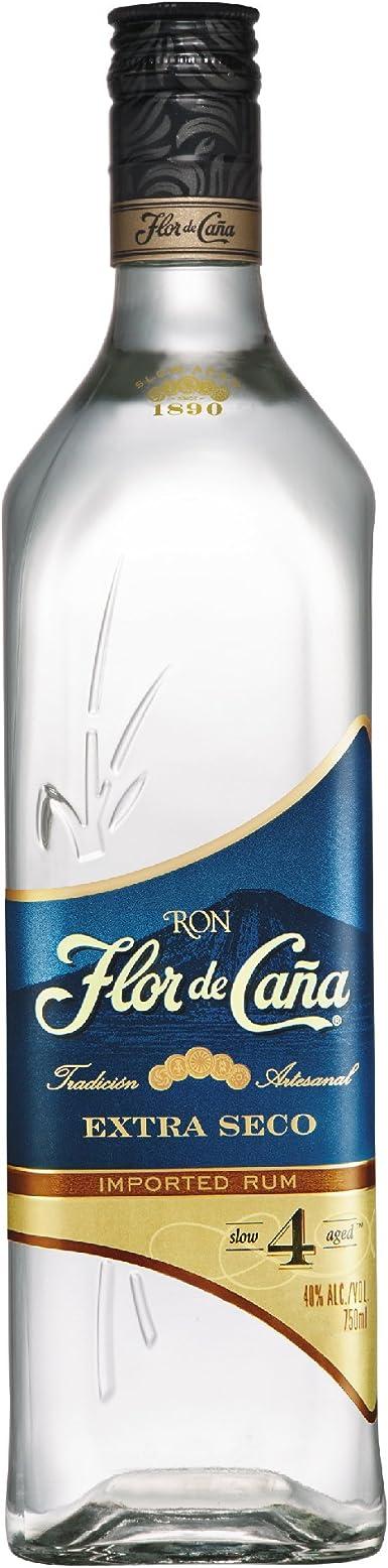Ron blanco Flor de Caña 4 Años Extra Seco 70cl