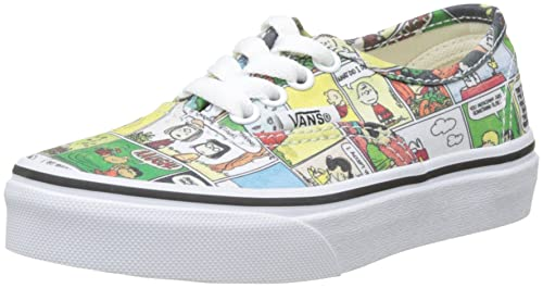 Vans Peanuts Authentic Zapatillas Unisex Niños, Multicolor (Peanuts/Comics/Black/True White), 30 EU: Amazon.es: Zapatos y complementos