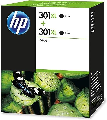 HP 301 D8J45AE Cartucho de tóner adecuado para DJ1050, Negro, Pack ...