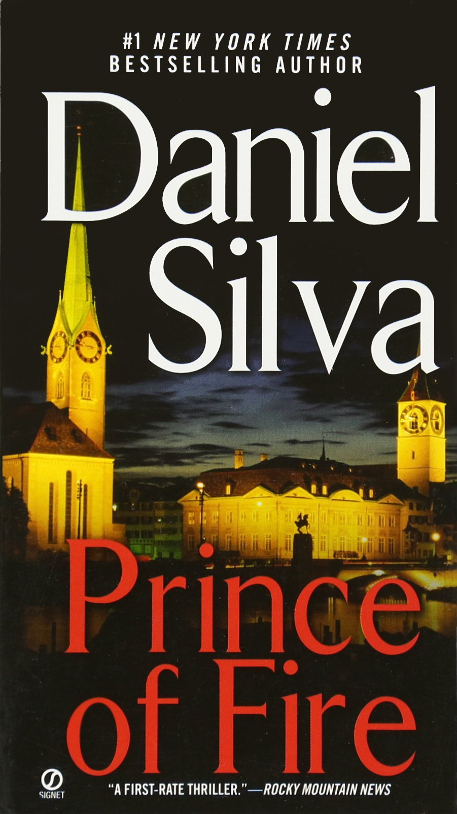 Amazon: Prince Of Fire (gabriel Allon) (9780451215734): Daniel Silva:  Books