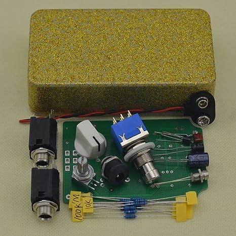 Amplificador de DIY Kit de pedal para guitarra efectos pedales ...