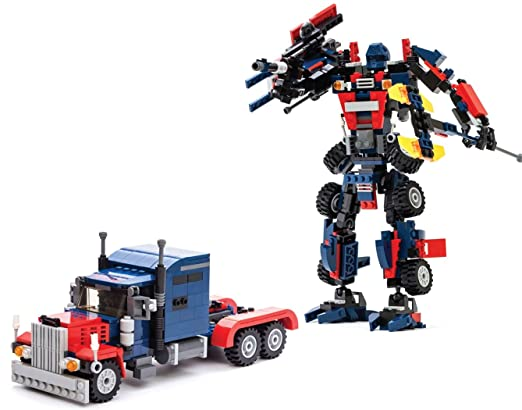 4 opinioni per Set di mattoncini da costruzione dei Transformers. Kit 2 in 1 per montare il