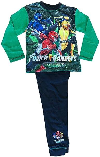 Power Rangers per Bambini Pigiama a Maniche Lunghe