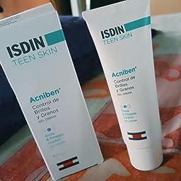 ISDIN Gel Crema Acniben Control De Brillos Y Granos - 40 ml: Amazon.es